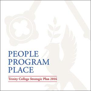 Trinity College Strategic Plan Cover