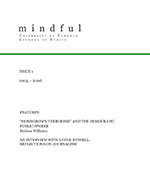Cover of Mindful Issue 2006