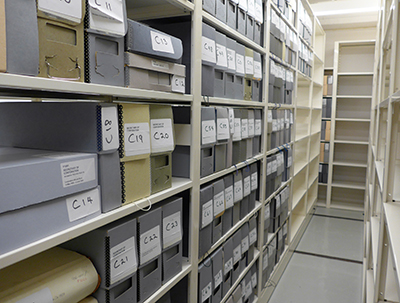 New Archives vault