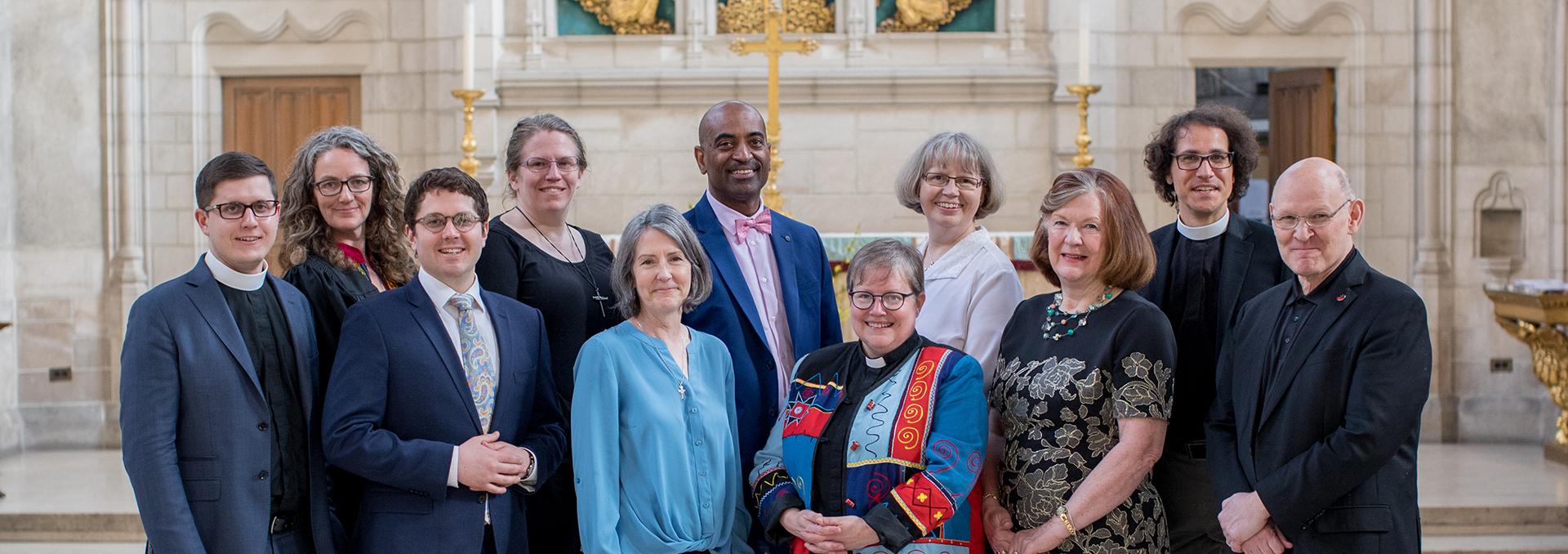 Divinity graduands 2019 in the Chapel