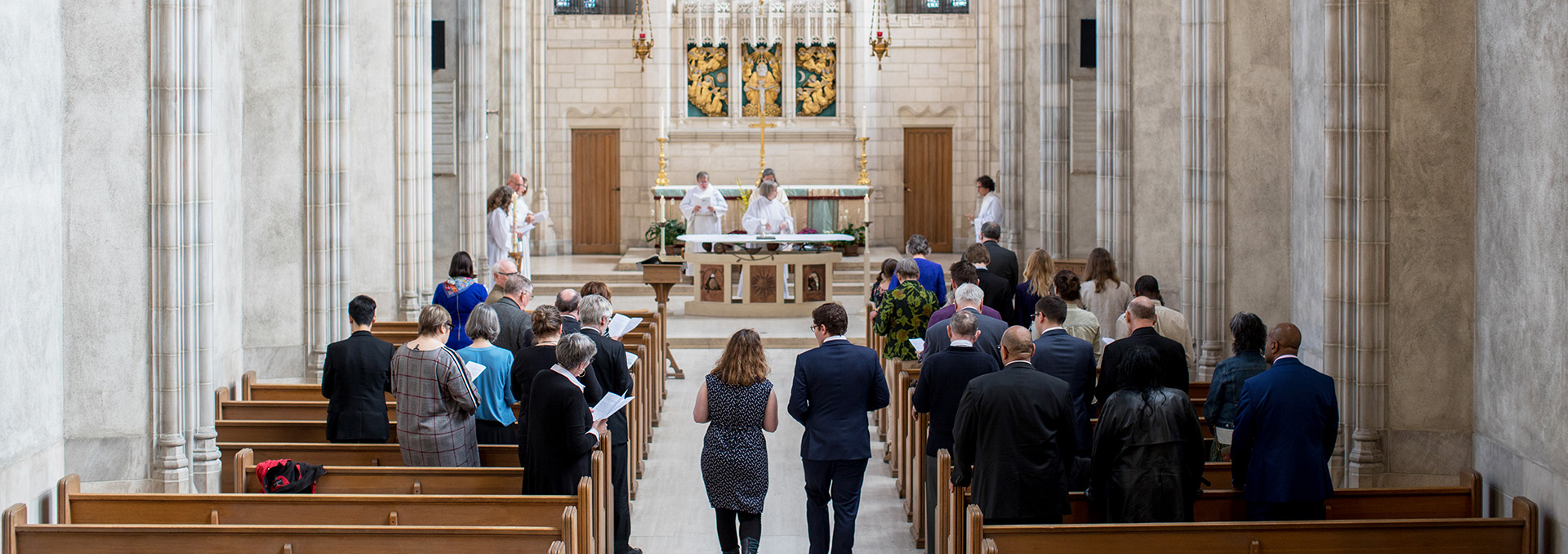 Faculty of Divinity service in the Chapel prior to Convocation 2019