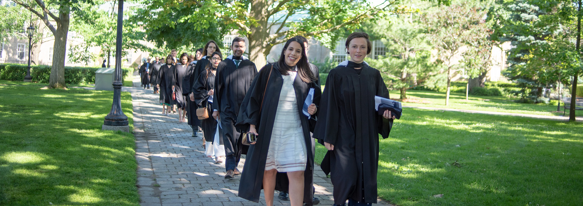 Graduands Process to Convocation Hall 2018