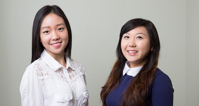 Julia Won and Annie Yao