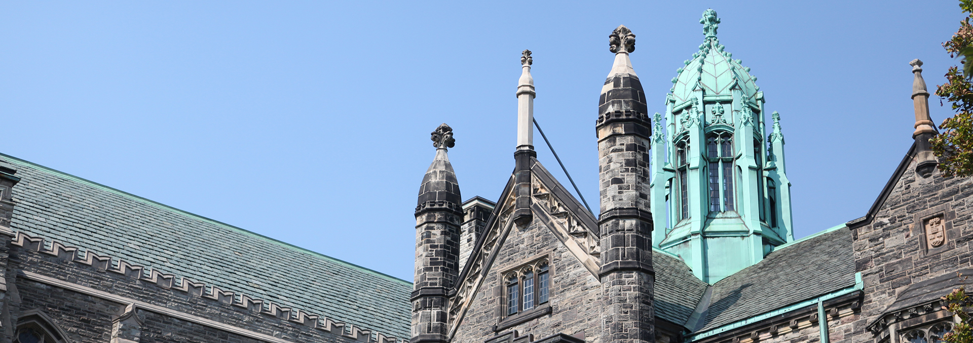 Roof of Trinity College building