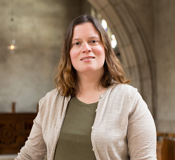 Jessica Watts is a Faculty of Divinity student