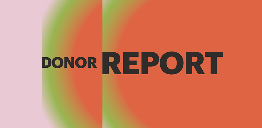 2019 Donor Report