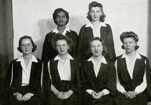 Gloria Carpenter in Torontonensis 1943