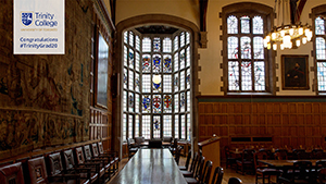 Trinity College Strachan Hall Zoom background thumbnail