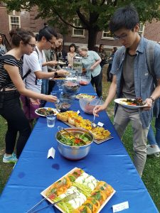 Student food event