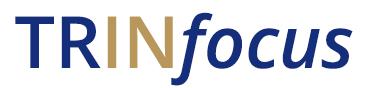 TRINfocus wordmark