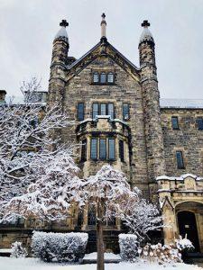 Trinity College on Christmas Day Dec 25, 2020