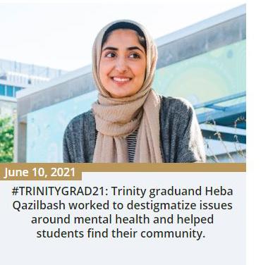 Heba Qazilbash story on Trinity News June 10, 2021
