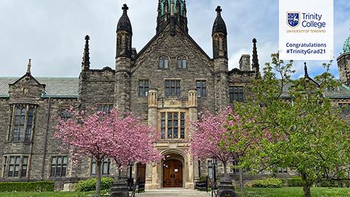 Trinity College: TrinityGrad21 Virtual Background