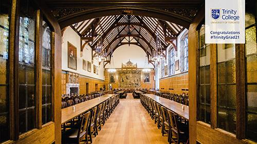 Strachan Hall: TrinityGrad21 Virtual Background