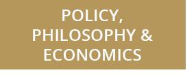 Policy, Philosophy, and Economics