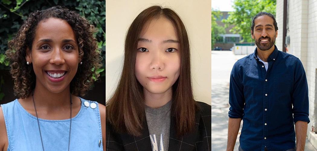 Wellness Staff Team - Ramata Tarawally, Jamie Seo and Soroosh Vafapoor