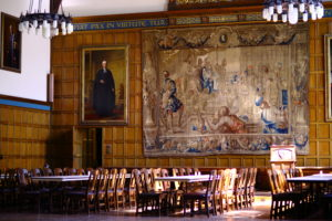 Tapestry in Strachan Hall