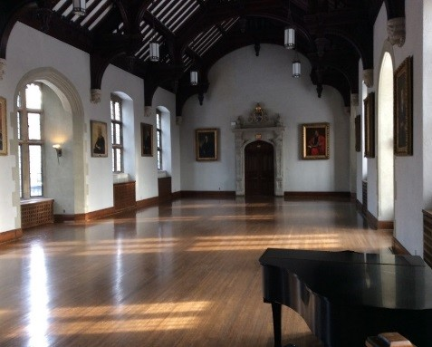 Seeley Hall at Trinity College
